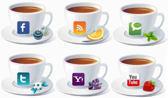 иконки русских соц сетей: