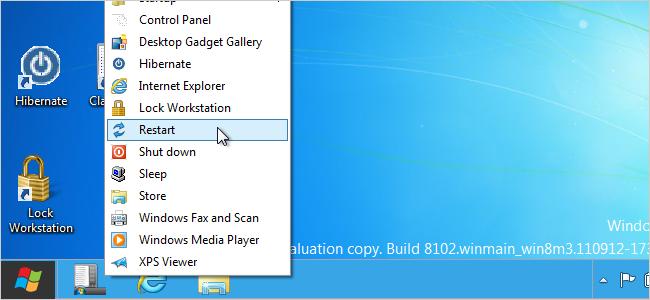"""Классическое меню Пуск в Windows 8 """" Настройка и оптимизация Windows """" Windows 8 """" GiG-PRO.RU - Портал нового поколения"""